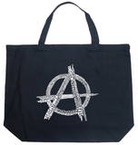 Anarchy - Punk Song Titles Tote Bag
