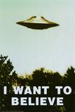 Les X-Files, Je veux y croire en anglais Posters