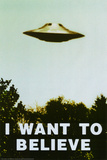 The X-Files - I Want To Believe Print Plakát