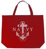 U.S. Navy - Anchors Aweigh Tote Bag