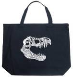 TREX - Dinosaur names Tote Bag