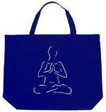 Yoga Poses Tote Bag