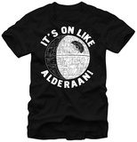 Star Wars - Alderaaan Death T-shirts