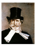 Giuseppe Verdi (1813-1901) Giclee Print by Giovanni Boldini