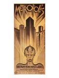 Metropolis Poster, 1926 Reproduction procédé giclée