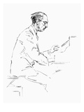 Igor Stravinsky (1882-1971) Giclee Print by Hilda Wiener