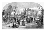 Curling, 1853 Giclee Print