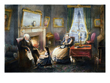Old Age, 1868 Giclee Print by  Currier & Ives