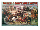 Buffalo Bill&#39;s Show Giclee Print