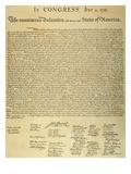 Declaration of Independence Art