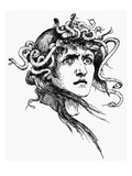 Mythology: Medusa Giclee Print