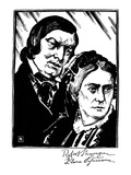 Robert Schumann (1810-1856) Posters by Samuel Nisenson
