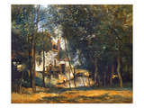 Corot: The Mill Prints by Jean Baptiste Camille Corot