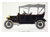 Auto: Model T Ford, 1915 Giclee Print