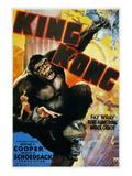 King Kong Poster, 1933 Giclee Print