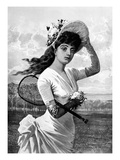Tennis, 1887 Giclee Print by  Seer