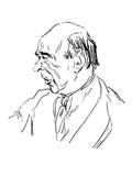 Arnold Schoenberg Giclee Print by B.F. Dolbin