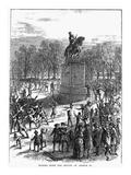 George III Statue, 1776 Prints