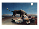 Rousseau: Gypsy, 1897 Giclee Print by Henri Rousseau