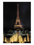 Paris: Eiffel Tower Giclee Print