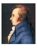 Wolfgang Amadeus Mozart Giclee Print by Doris Stock