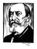 Camille Saint-Saens Giclee Print by Samuel Nisenson