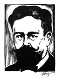 Isaac Albeniz (1860-1909) Giclee Print by Samuel Nisenson