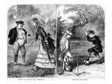 Croquet, 1873 Giclee Print