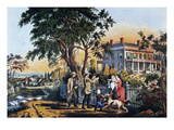 Currier: Country Life Giclee Print by Nathaniel Currier