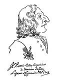 Antonio Vivaldi (c1675-1741) Giclee Print by Pier Leone Ghezzi