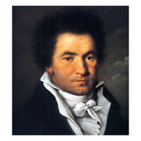 Ludwig Van Beethoven Giclee Print by Joseph Willibrord Mahler