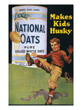 National Oats Ad, 1919 Posters