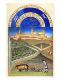 Book of Hours: March Giclee Print