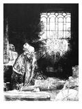 Rembrandt: Faust, 1652 Giclee Print by  Rembrandt van Rijn