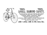 Bicycle Advertisement, 1890 Giclee Print