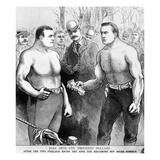 Sullivan vs Kilrain, 1889 Prints
