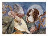 Angel with a Lute Giclee Print by Melozzo Da Forli
