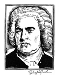 Johann Sebastian Bach Giclee Print by Samuel Nisenson