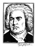 Johann Sebastian Bach Giclee Print by Samuel Nisenson
