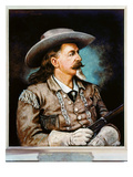 William F Cody Giclee Print by Henry H. Cross