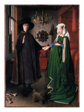 Eyck: Arnolfini Marriage Premium Giclee Print by  Jan van Eyck