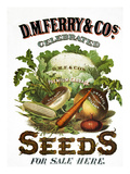 Seed Company Poster, c1800 Giclee Print