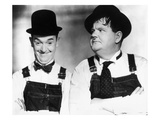 Laurel and Hardy Giclee Print