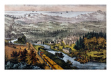 Through to the Pacific Giclee Print by  Currier & Ives
