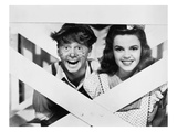 Mickey Rooney (1920-) Giclee Print by Judy Garland