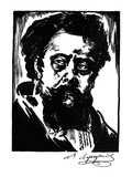 Modest Mussorgsky Giclee Print by Samuel Nisenson