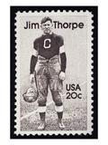 Jim Thorpe (1888-1953) Giclee Print