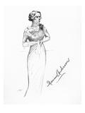 Marian Anderson (1897-1993) Giclee Print by Hilda Wiener