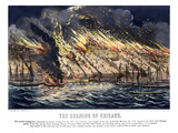 Chicago: Fire, 1871 Giclee Print by  Currier & Ives