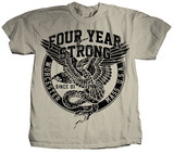 Four Year Strong - Eagle &amp; Snake T-Shirts